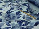 エステル複合fashionニットやや厚ソフト1way伸縮渋青花長4m巾115cm ニットジャケット ワンピース スカート カットソー秋