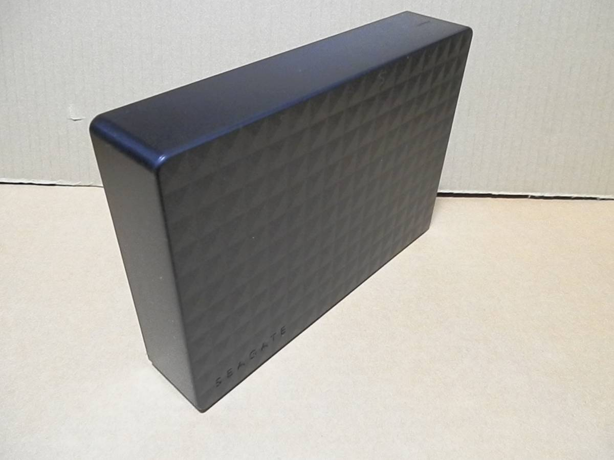◆USB3.0接続ハードディスクケース(Seagate SGD-NY020UBKの抜け殻)黒/3.5インチHDDケース