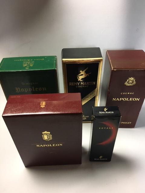 ナポレオン レミーマルタン 合計5本SET(Napoleon,Remymartin)