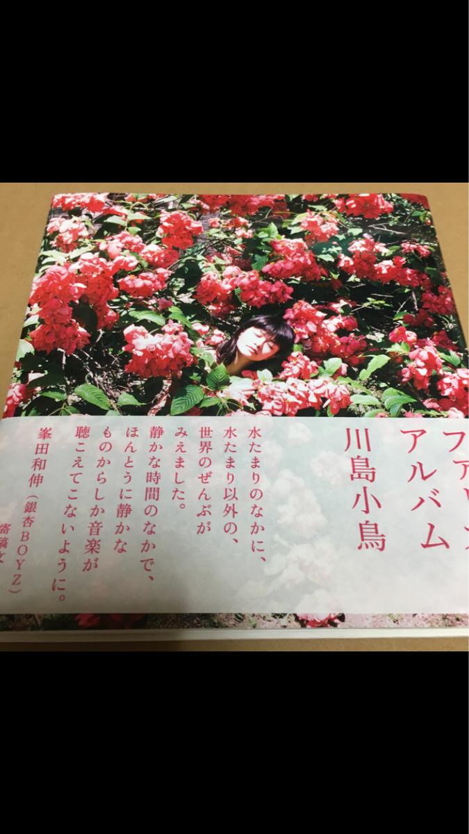 川島小鳥 ファーストアルバム 直筆サイン入り A