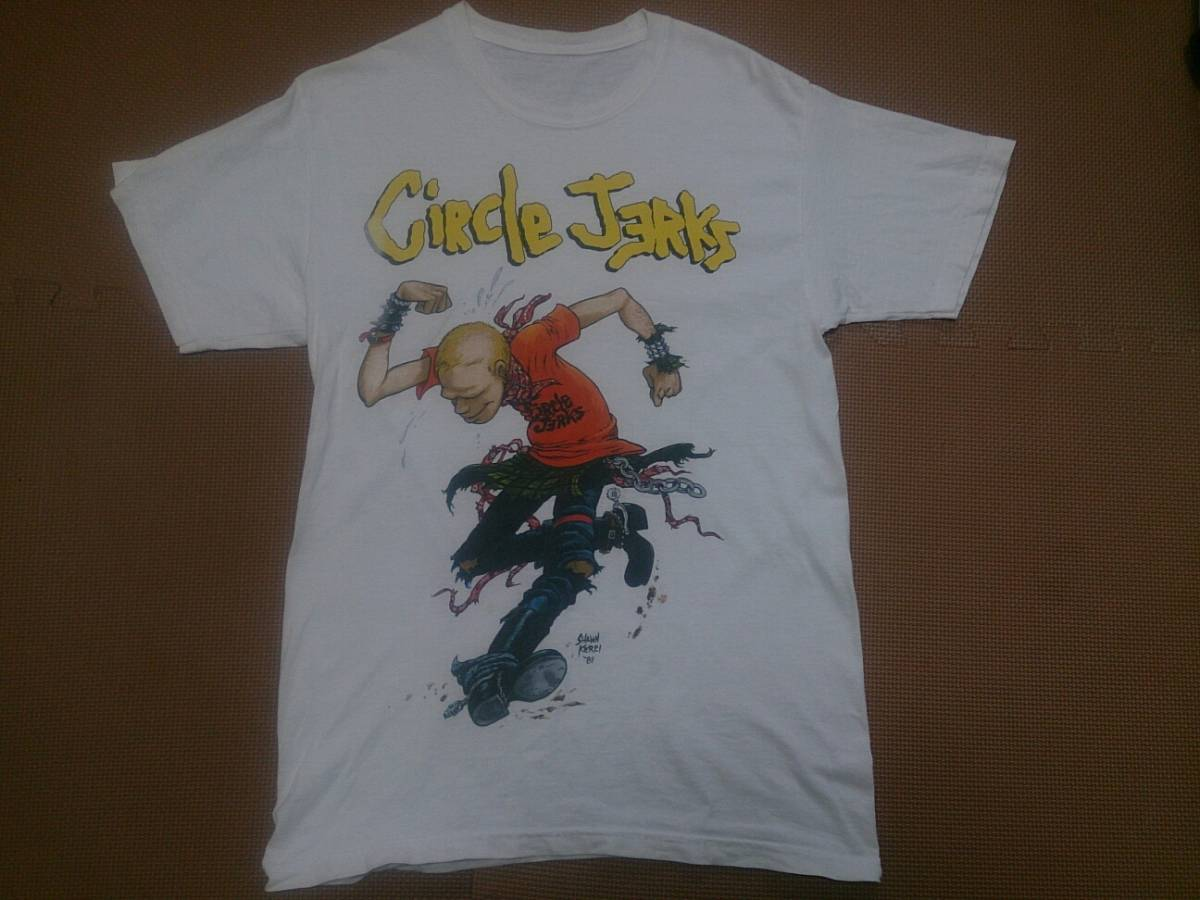CIRCLE JERKS サークルジャークス Tシャツ 7SECONDS black flag bad brains minor threat ハードコア