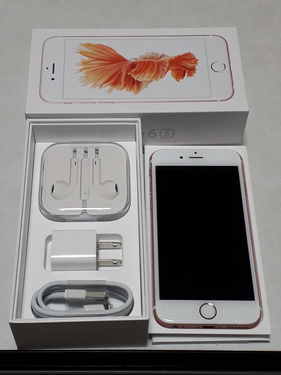 iPhone6s 64GB ローズゴールド 国内正規品 SIMフリー 美品