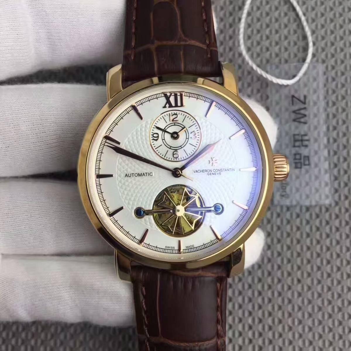 新品 ヴァシュロンコンスタンタン 高級感 男性用 腕時計 自動巻き
