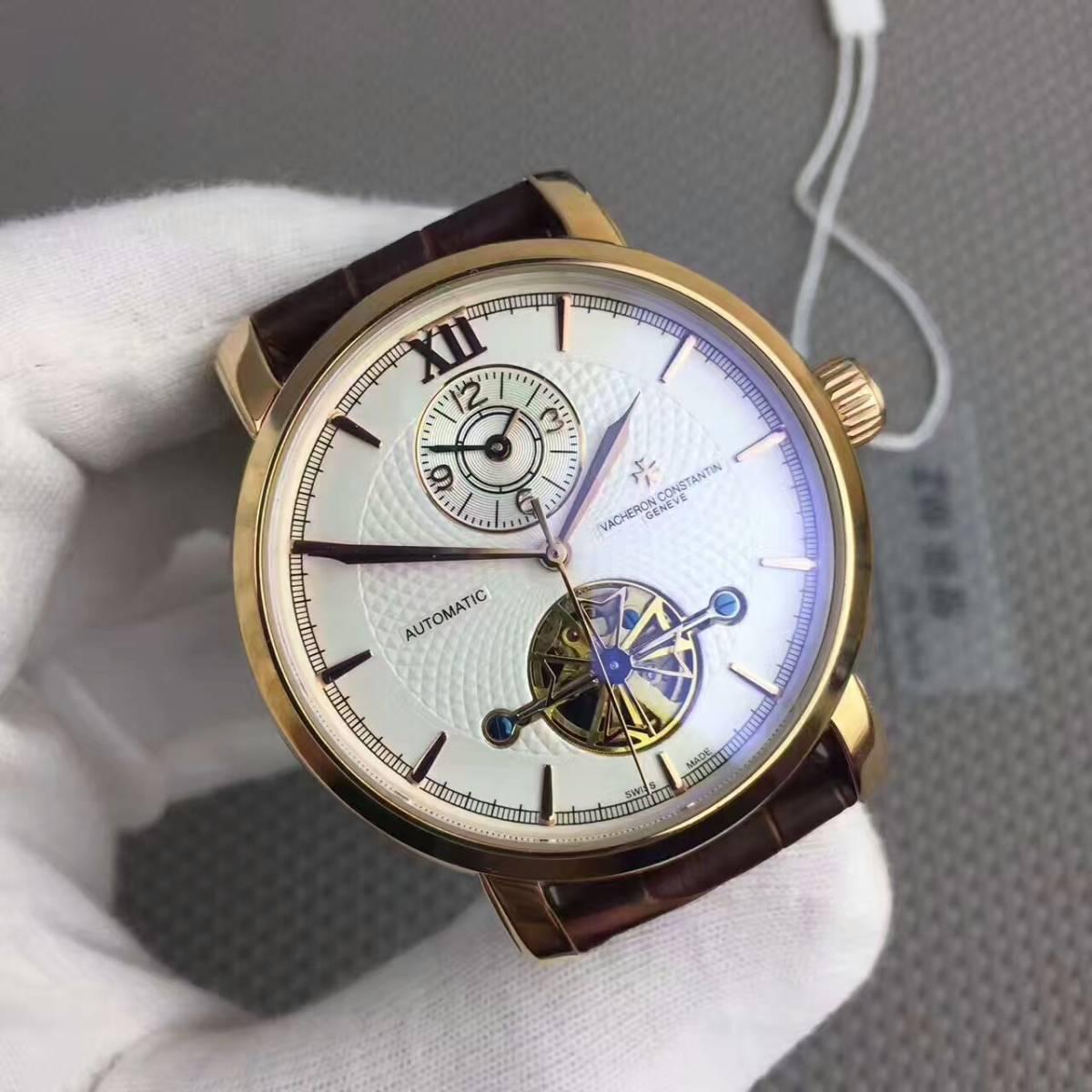 新品 ヴァシュロンコンスタンタン 高級感 男性用 腕時計 自動巻き_画像2