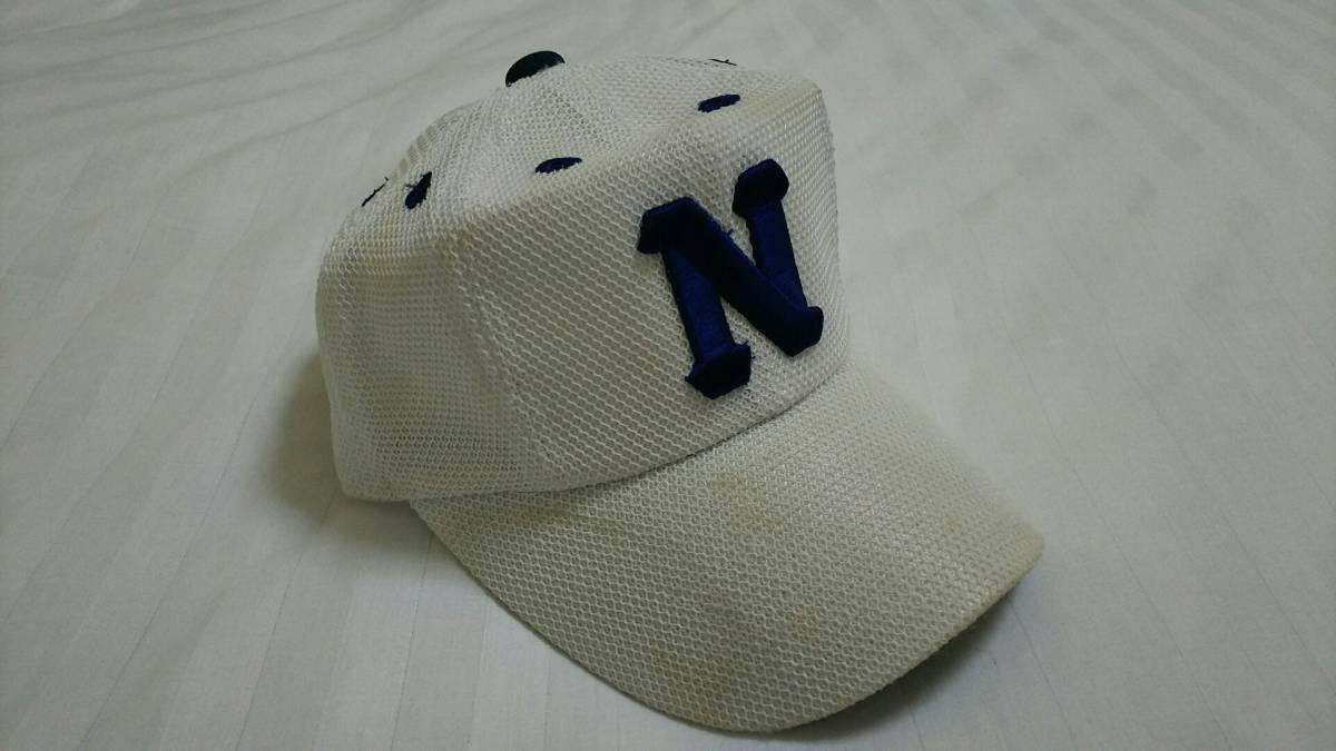 佐野日大高校 野球部 公式戦帽子 ミズノ 高校野球 甲子園 日大佐野