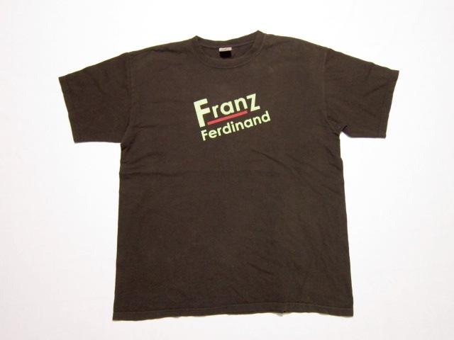 ☆Franz Ferdinand/フランツフェルディナンド ツアーTシャツ サイズM $971