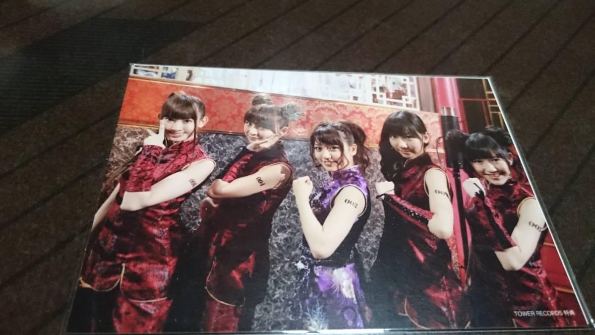 AKB48 大島優子 小嶋陽菜 篠田麻里子 渡辺麻友 柏木由紀 特典生写真