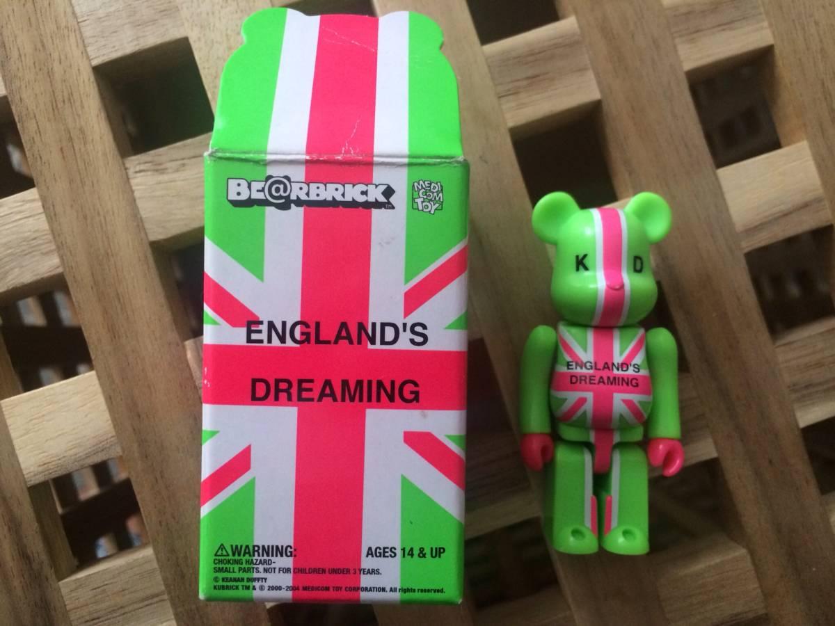 ENGLAND'S DREAMING KD BE@RBRICK 100%(ベアブリック・キーナンダフティ・セックスピストルズ) ライブ・イベントグッズの画像