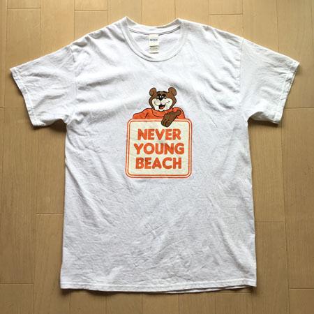never young beach ネバヤン FUJIROCK フジロック Tシャツ L
