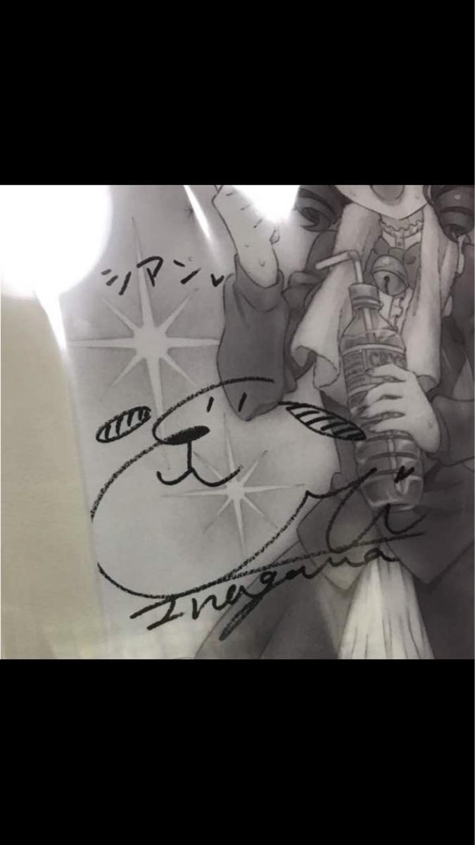 show by rock!!原画展 直筆サイン入り アートキャンバス グッズの画像