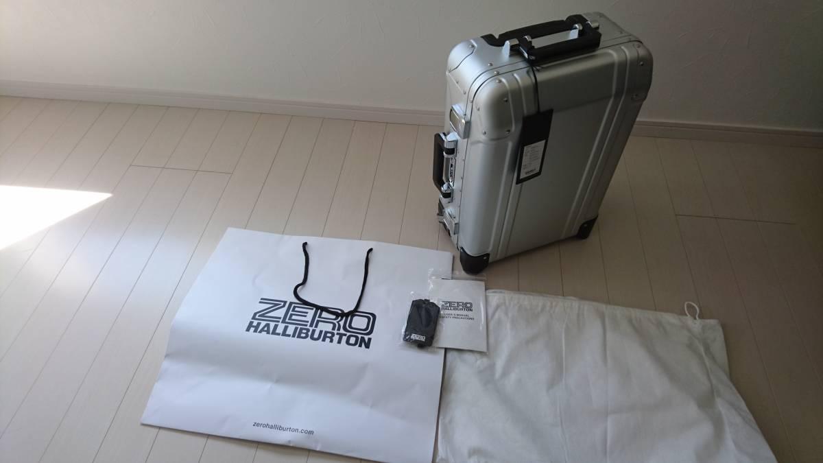 未使用 ゼロハリバートン アルミ ZR-Geo 31L 機内持込 スーツケース キャリーケース