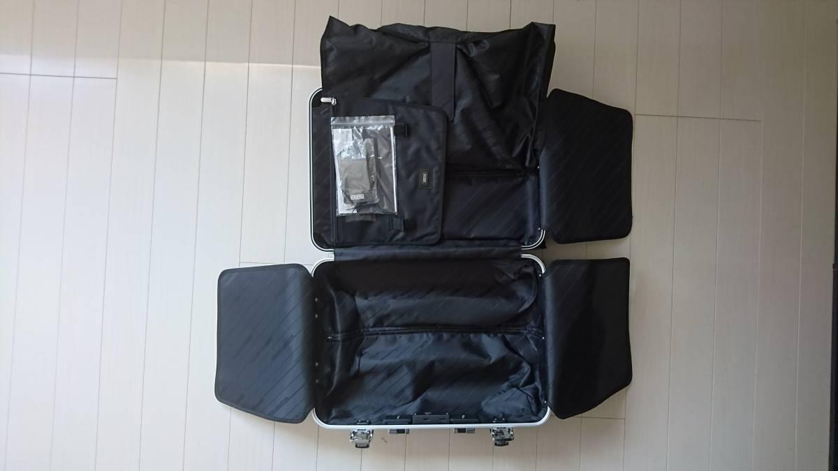 未使用 ゼロハリバートン アルミ ZR-Geo 31L 機内持込 スーツケース キャリーケース_画像3
