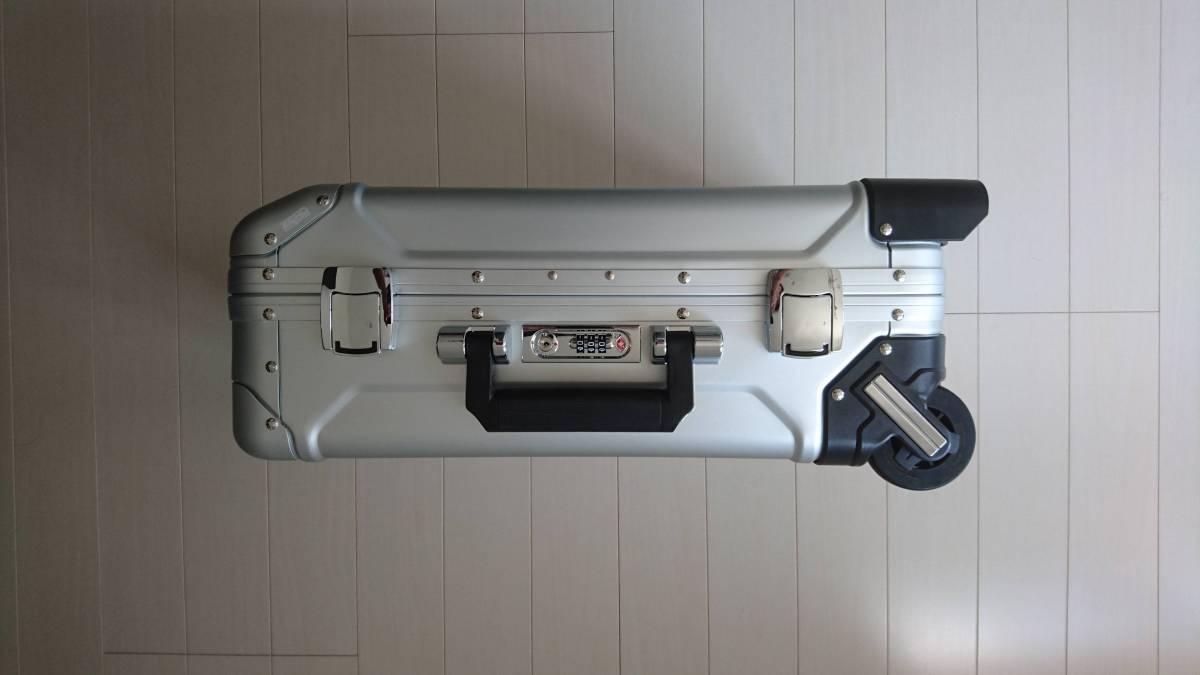 未使用 ゼロハリバートン アルミ ZR-Geo 31L 機内持込 スーツケース キャリーケース_画像2