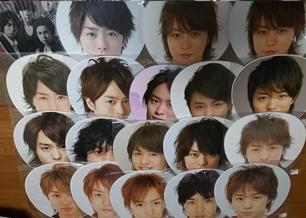 嵐◆コンサート公式グッズ「櫻井翔ジャンボうちわ19本セット」未使用◆美品