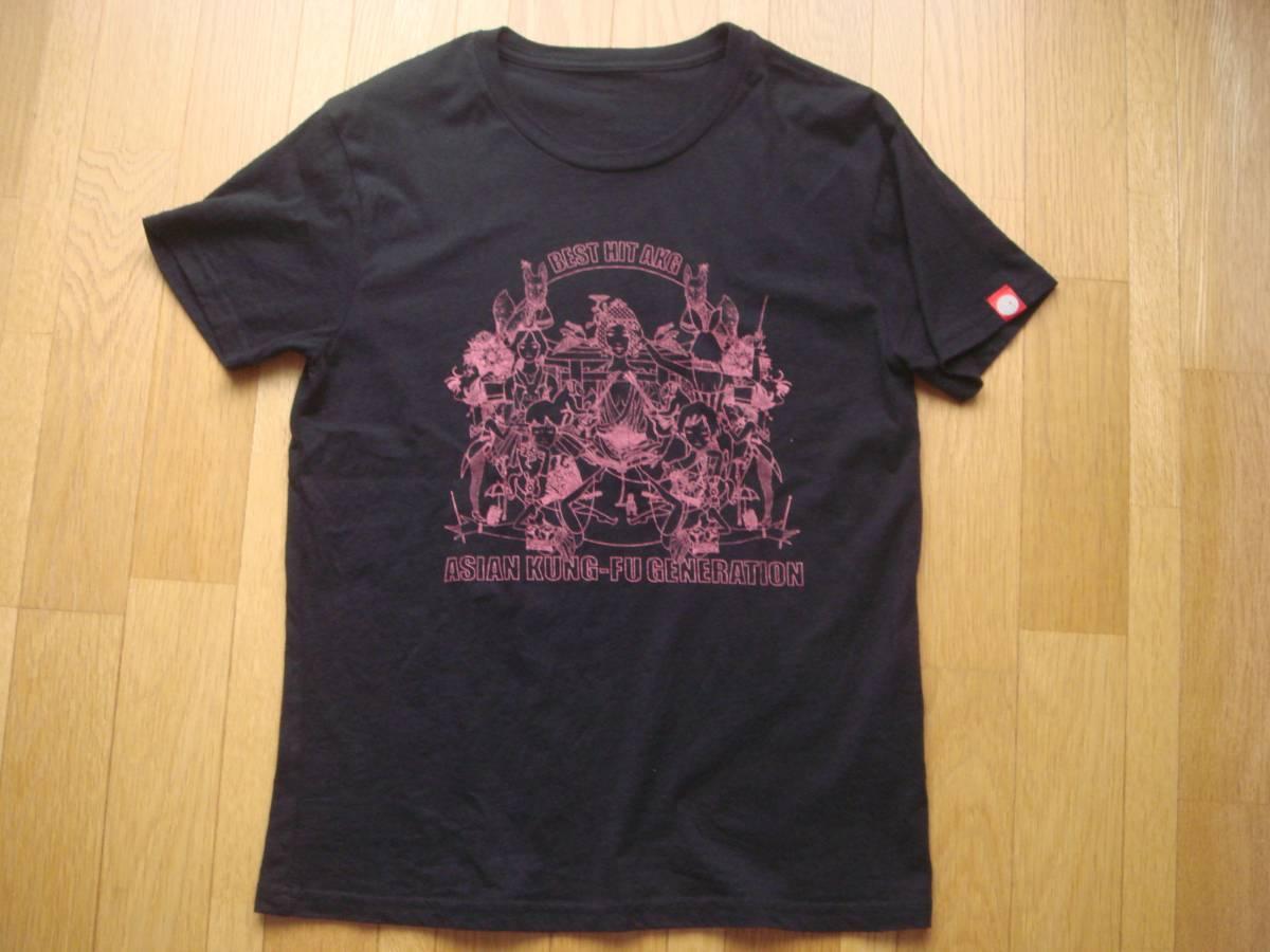 アジアンカンフージェネレーション アジカン Tシャツ 黒 Sサイズ ASIAN KUNG-FU GENERATION ライブグッズの画像