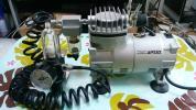 エアテック.エアーブラシコンプレッサー.APC-001良品!