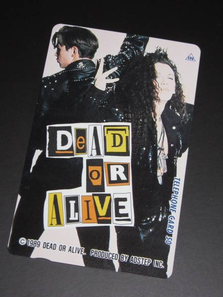 DEAD OR ALIVE 89年ツアーグッズ 入手困難レア テレカ未使用新品 ラスト1