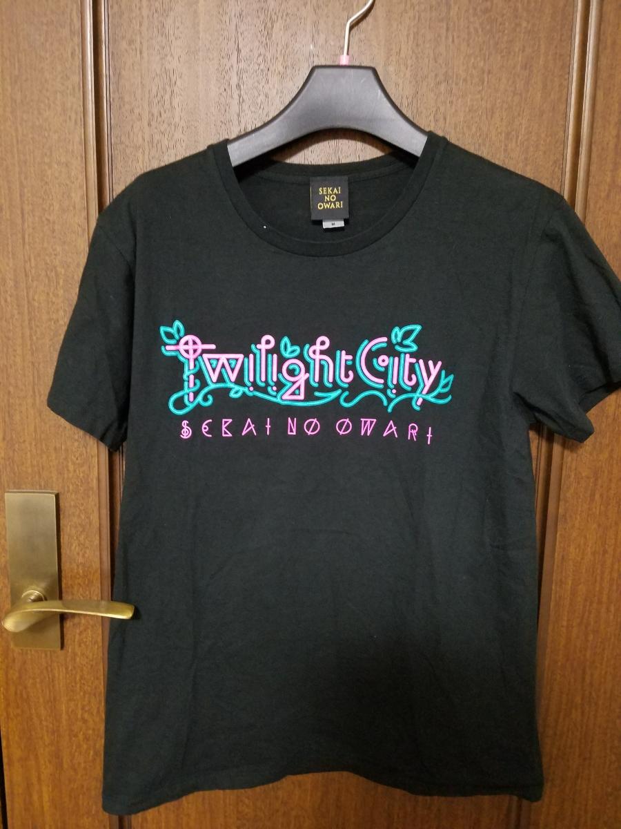 SEKAI NO OWARI セカイ ノ オワリ TOUR ツアーTシャツ M BLACK  ライブグッズの画像