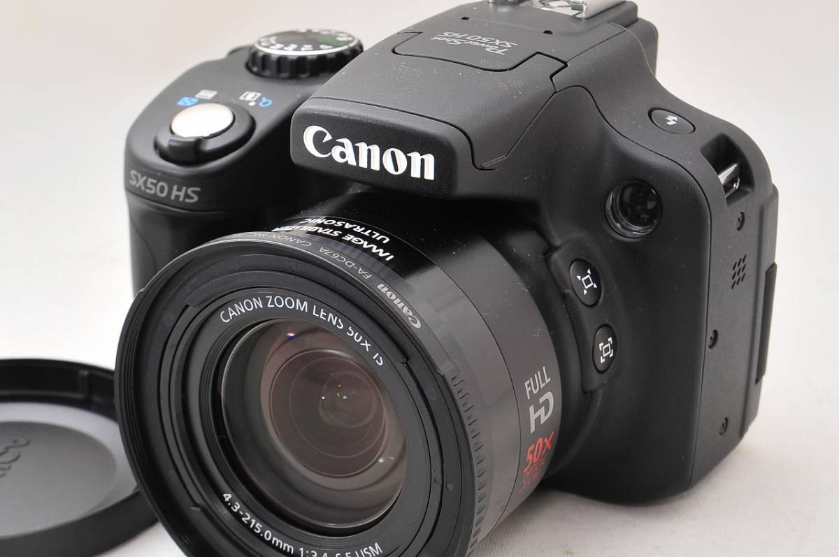 ■完動・超美品 canon キャノン Power Shot SX50HS■