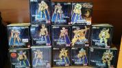 聖闘士聖衣神話EX黄金13体 魂ウェブ限定エフェクトセット2種 台座複数 Ωの射手座セイヤ 本1冊のセット