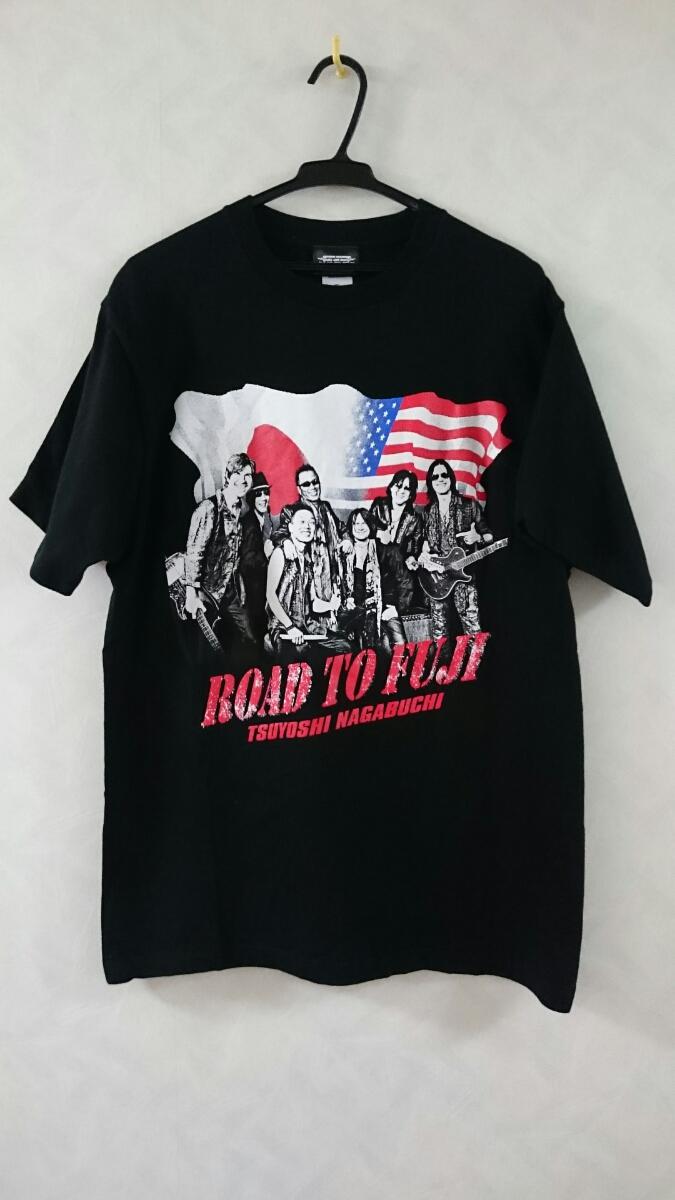 美品 長渕剛 HALL TOUR 2015 ROAD TO FUJI Tシャツ サイズXL  ライブグッズの画像