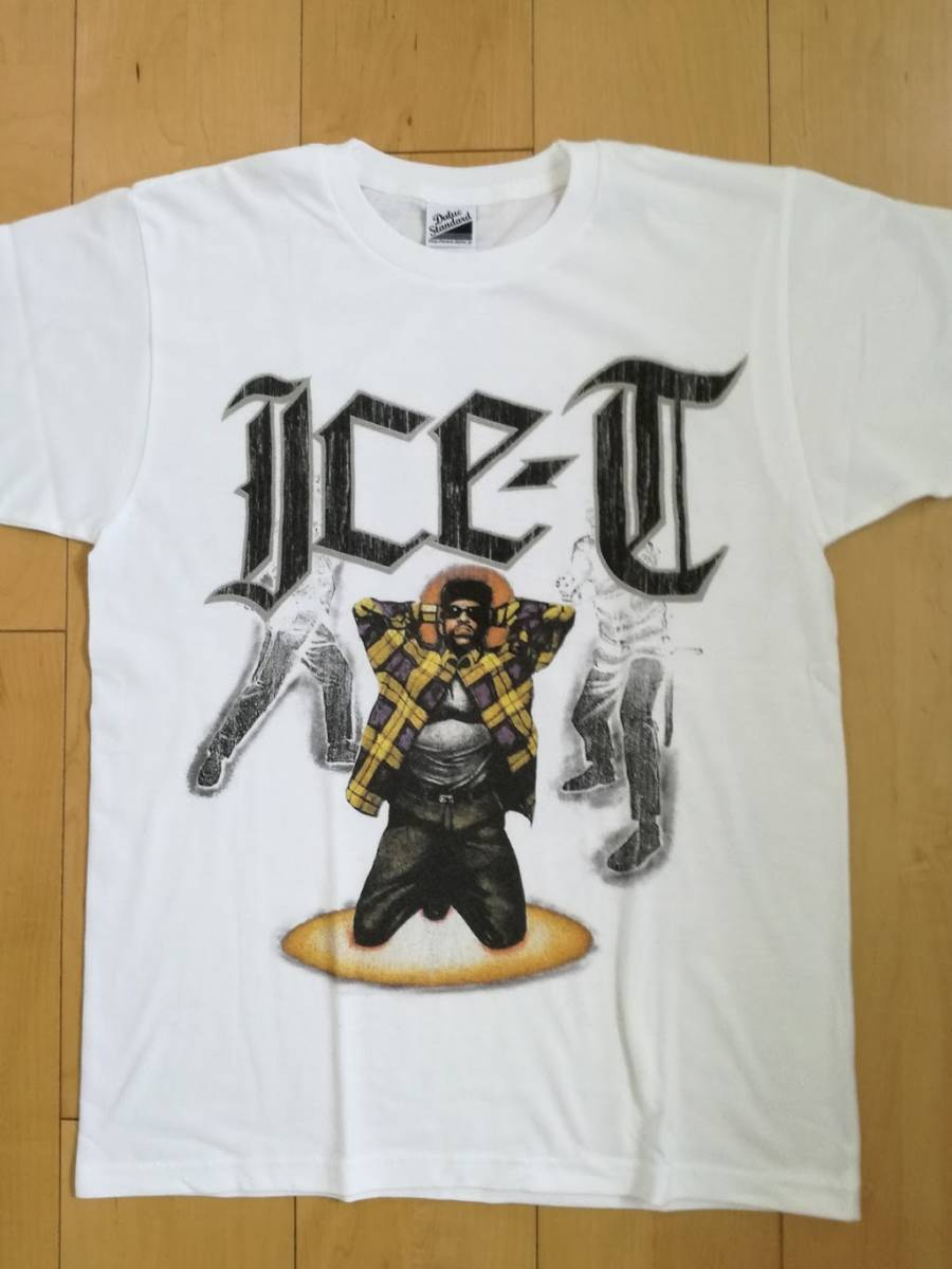 Ice-T TシャツXL WU-TANG PUBLIC ENEMY Supreme snoop N.W.A. ICE CUBE 2pac rap tee Death Row BIGGIE kanye fear of god Jerry Lore