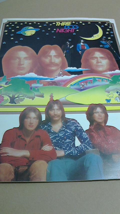 スリードッグナイト、ツアー・パンフレット1975