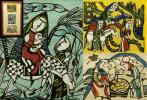 Kyпить 【うぶ荷】渡辺禎雄 木版画 3枚組 エルサレム 本物保証 師芹沢銈介 на Yahoo.co.jp
