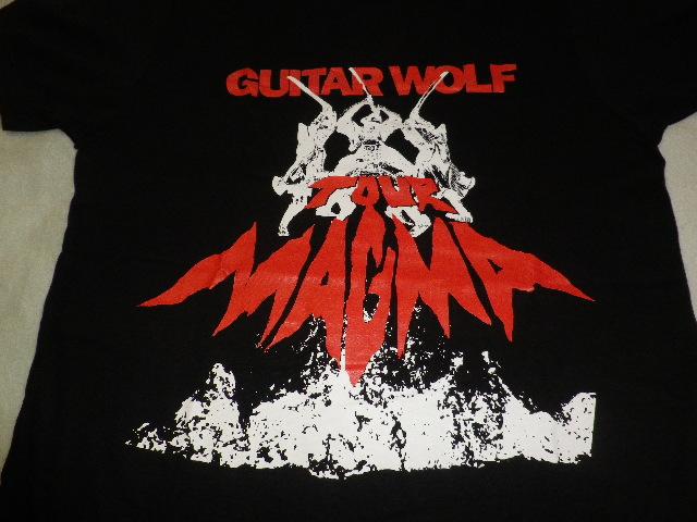 ギターウルフ② Tシャツ GUITAR WOLF ロッキンジェリービーン ドライボーンズ ROLL