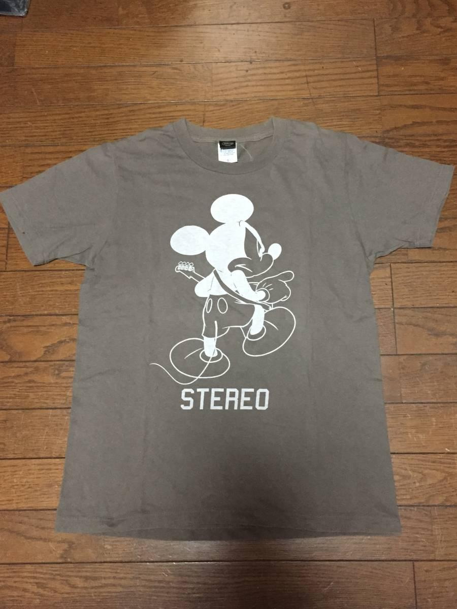 the band apart  ディズニーコラボTシャツ STEREO チャコール Sサイズ