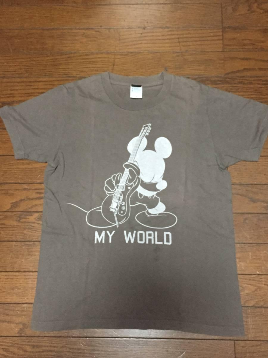 the band apart  ディズニーコラボTシャツ MY WORLD チャコール Sサイズ