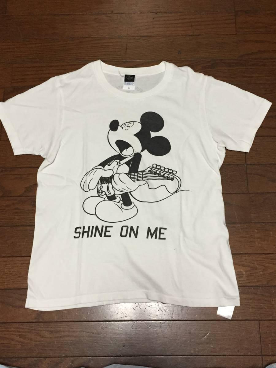 the band apart  ディズニーコラボTシャツ SHINE ON ME 白 Sサイズ