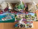 レゴ (LEGO) フレンズ ラブリークルーザー 41015 & ラブリーハウス 3315 & ハートレイクスクール 41005 & おまけ ジャンク品