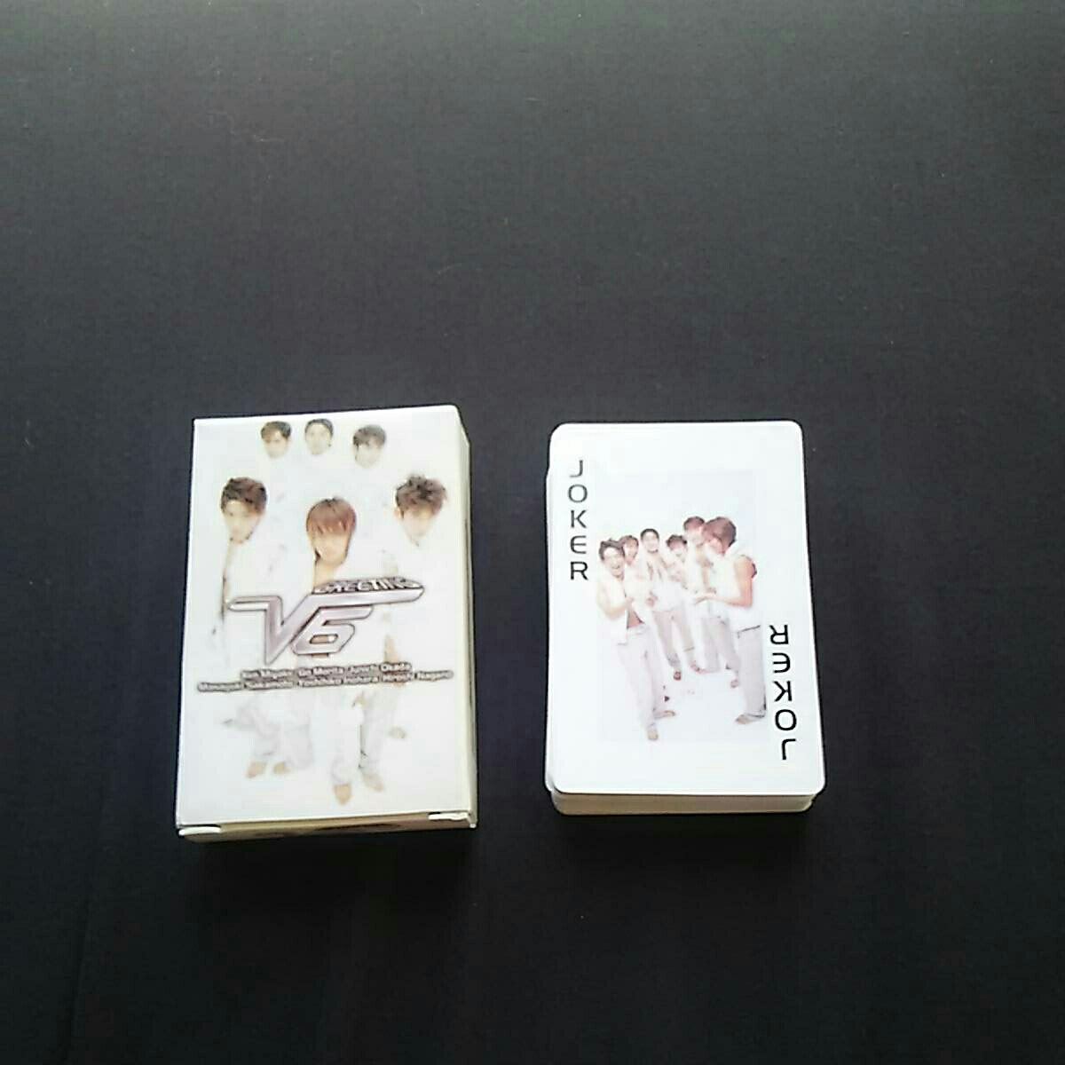 【新品】非売品 初回特典 ジャニーズ V6 トランプ CDアルバムより コンサートグッズの画像