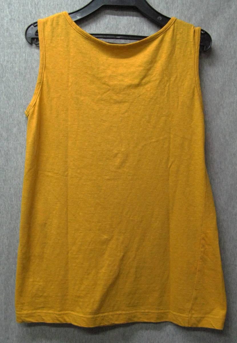 ワイズ:立体裁断 タンクトップ (ヨウジ 今期 Tシャツ Yohji Yamamoto ladies' Tee_画像2