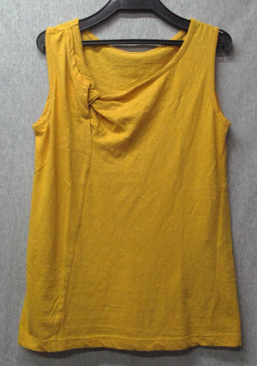 ワイズ:立体裁断 タンクトップ (ヨウジ 今期 Tシャツ Yohji Yamamoto ladies' Tee_画像1