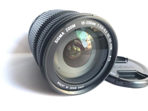 ★極上品★シグマ 18-250mm F3.5-6.3 DC OS HSM Canon キヤノン用★