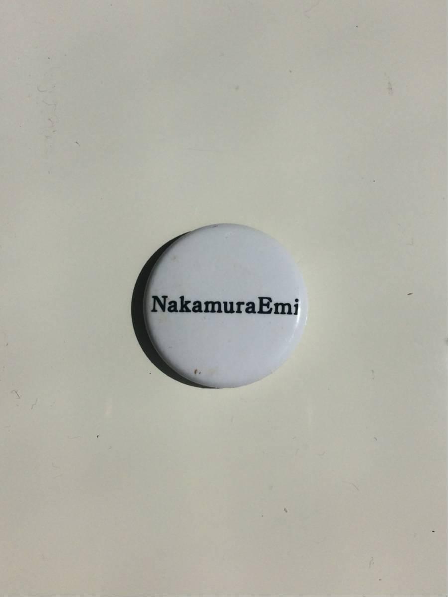 NakamuraEmi RISING SUN RSR2017 ライジンサン 缶バッジ ガチャガチャ