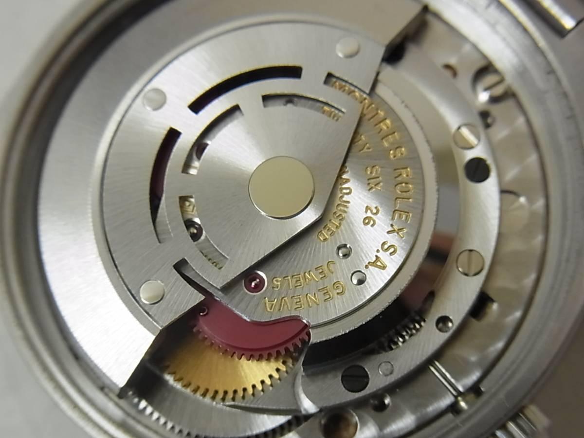 90731M67-0811M-000001■ROLEX ロレックス■エアキング プレシジョン 5500 メンズ 自動巻き 腕時計_画像2