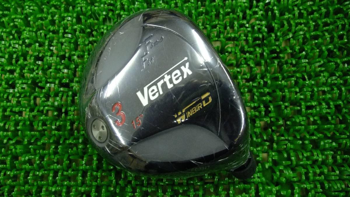 新品!WINBIRD(ウィンバード) 1W+3Wセット(マットブラック)Vertex FF 460HT ドライバー10.5°ヘッド+FW3(#3)ヘッドセットの出品です。_画像2