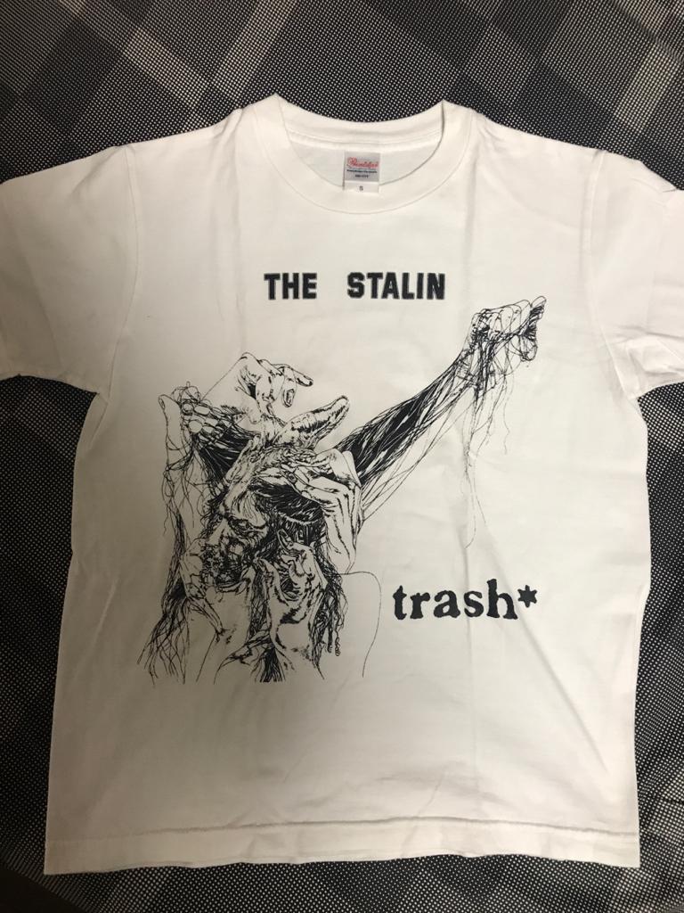 スターリン trash Tシャツ正規品 STALIN 遠藤ミチロウ PUNK パンク