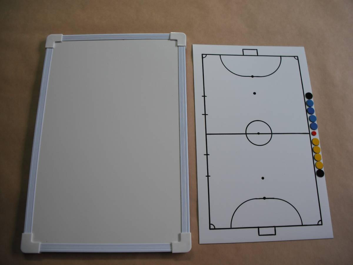 フットサル作戦板(作戦盤・作戦版)マグネットシート+ボード_画像2