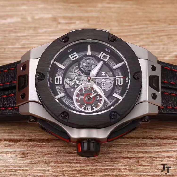 【人気品】 ウブロ 新作未使用品  腕時計 自動巻き_画像2