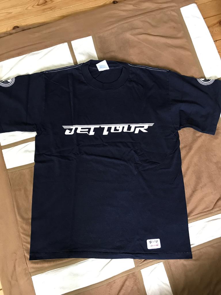 【新品】パフィ PUFFY 1998年 JET TOUR ライブ ツアーTシャツ 紺 ネイビー amiyumi L  JET CD