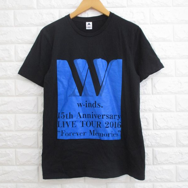 【w-inds.】ウインズ◆15th LIVE TOUR 2016「Forever Memories」 Tシャツ◆Lサイズ
