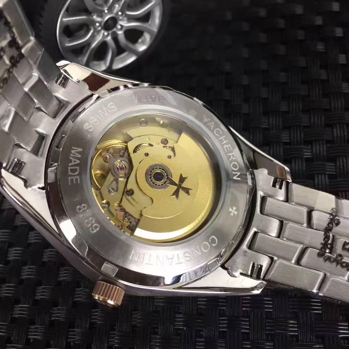 新品 ヴァシュロンコンスタンタン 高級感 男性用 腕時計 メンズ ウォッチ 自動巻き_画像3