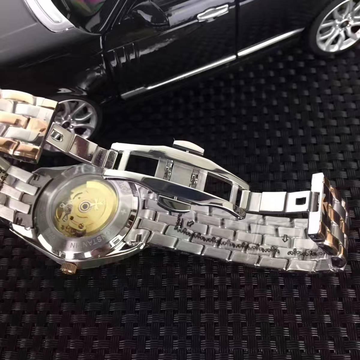 新品 ヴァシュロンコンスタンタン 高級感 男性用 腕時計 メンズ ウォッチ 自動巻き_画像2