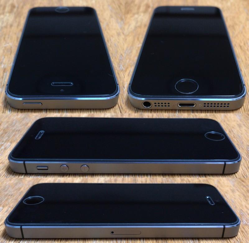 ◆美品 iPhone5S 64GB スペースグレイ 判定○ 難あり_画像3