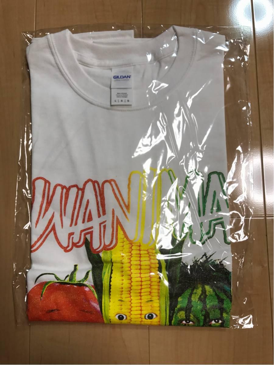 WANIMA 夏フェス ライブ会場限定グッズ 野菜顔 Tシャツ 白 M