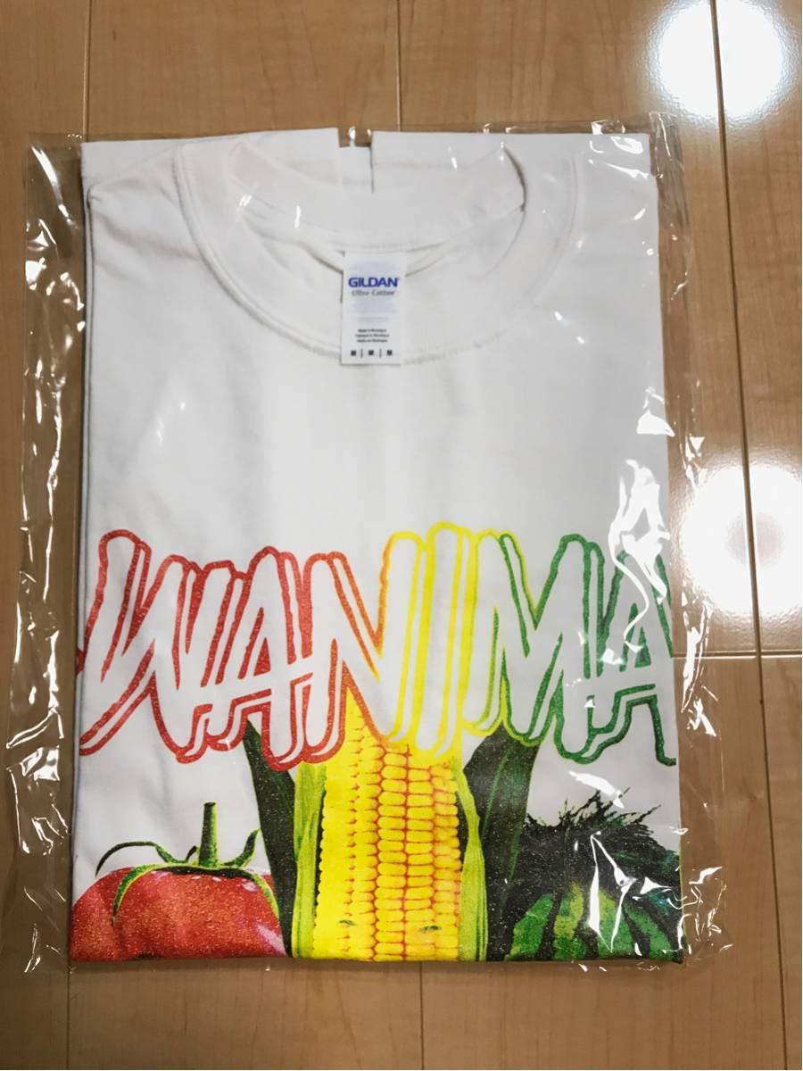 WANIMA 夏フェス ライブ会場限定グッズ 野菜顔 Tシャツ 白 L